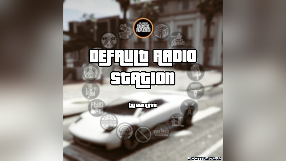 Default Radio Station 1.1 for GTA 5