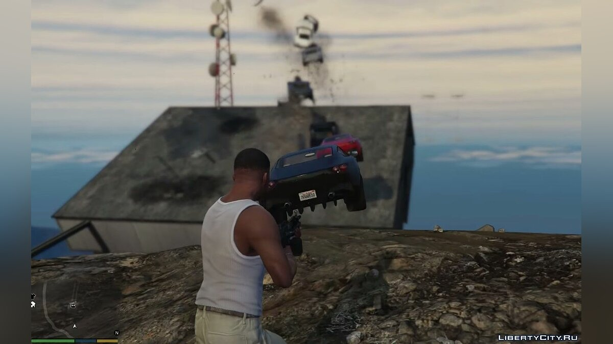 Automotive cannon / Vehicle Cannon 1.0 for GTA 5 - screenshot #4
