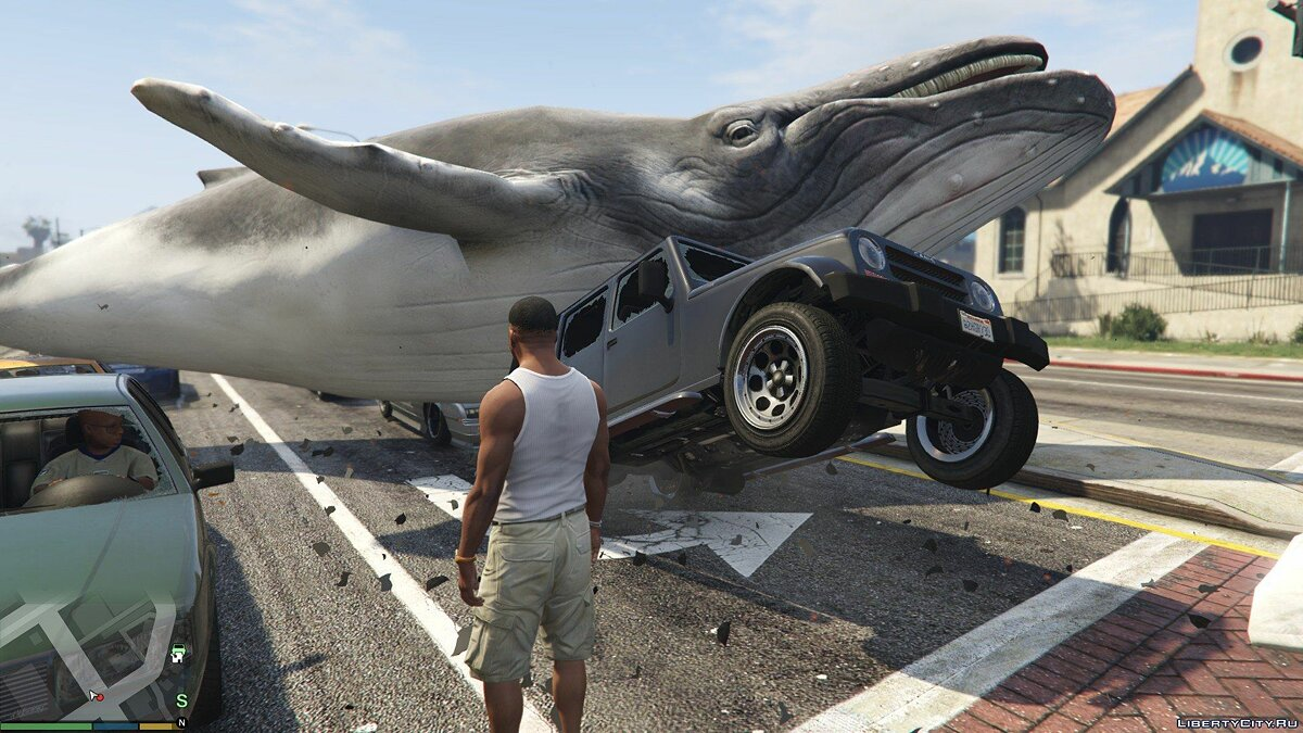 The Whale Spawner for GTA 5 - screenshot #2