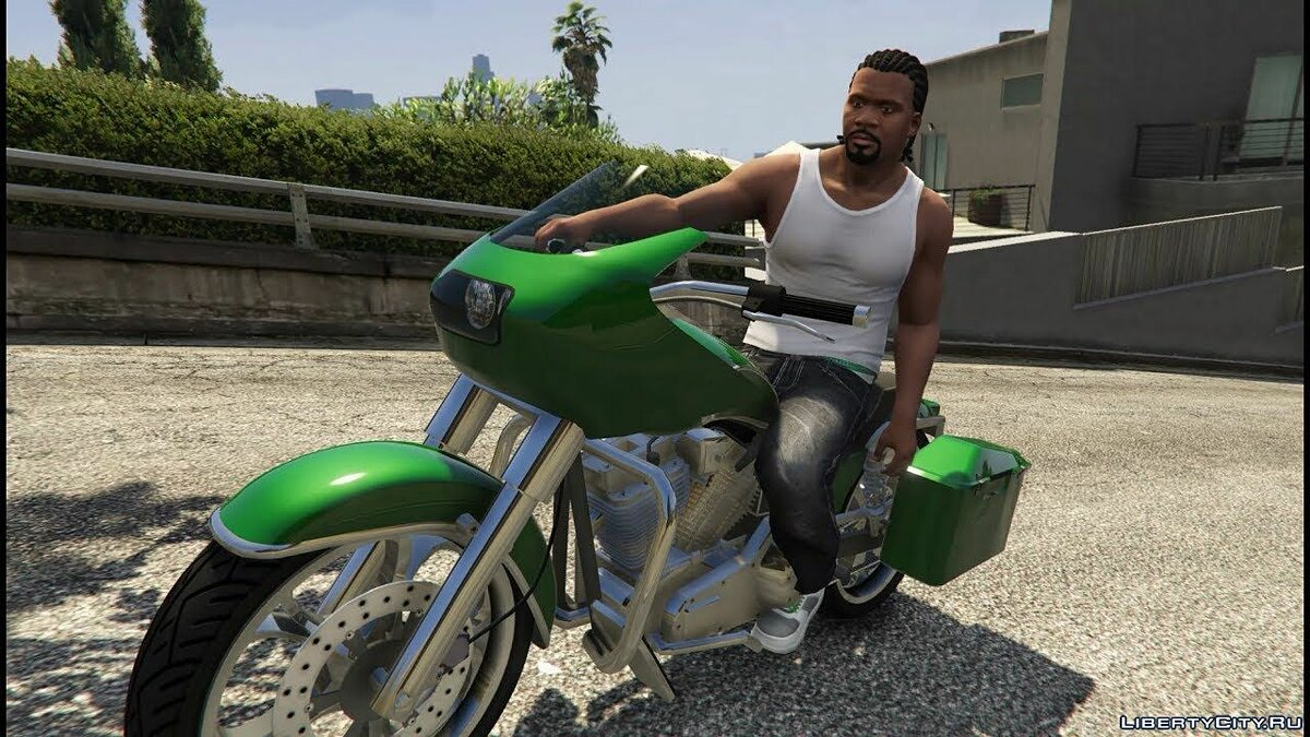 Script mod Relaxed motorcycle driving for GTA 5