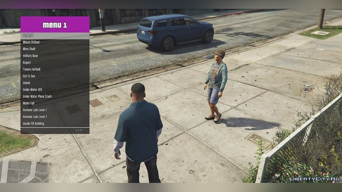 Teleport menu for GTA 5 / Teleport Menu v1 for GTA 5 - screenshot #2