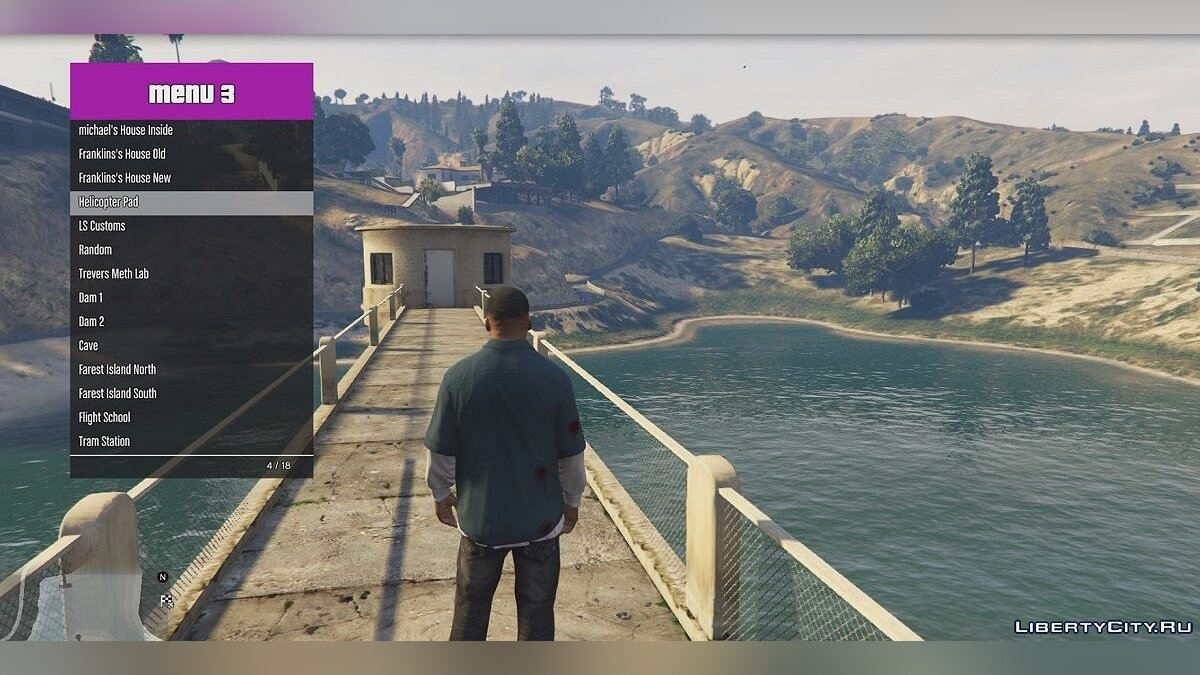 Teleport menu for GTA 5 / Teleport Menu v1 for GTA 5 - screenshot #4
