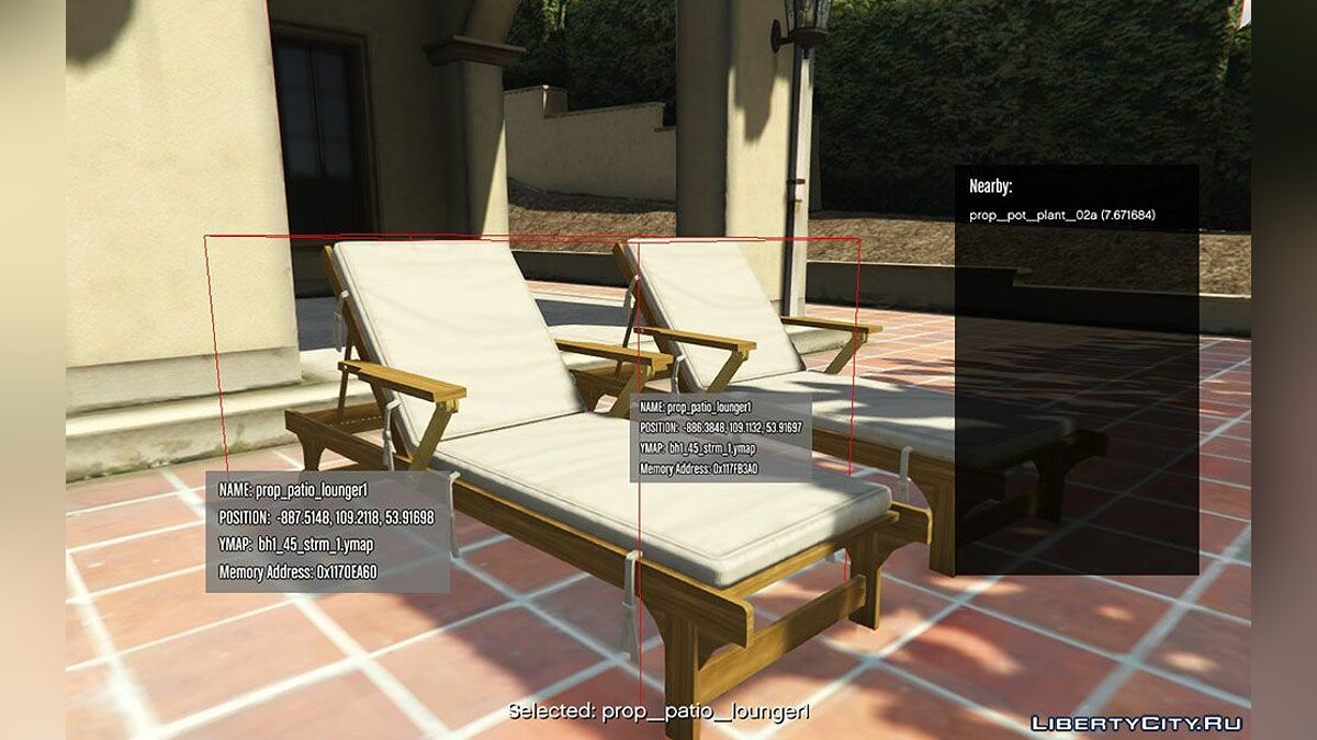 Script mod Information about any object for GTA 5