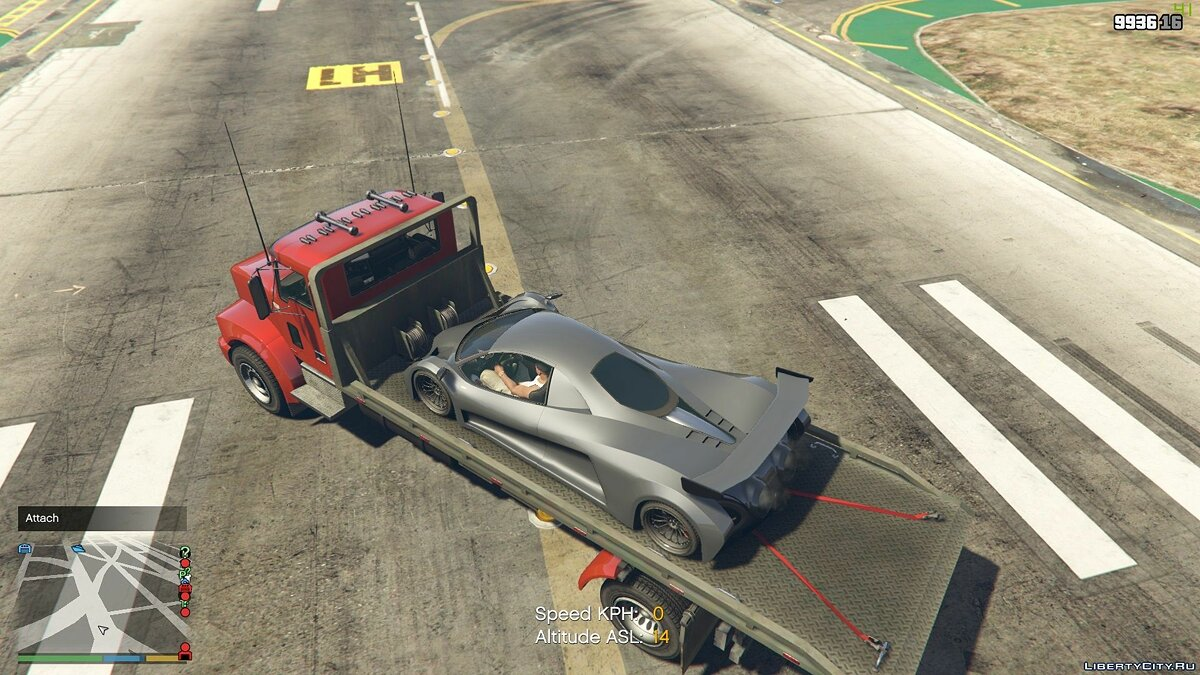 Script mod Working flatbed for GTA 5