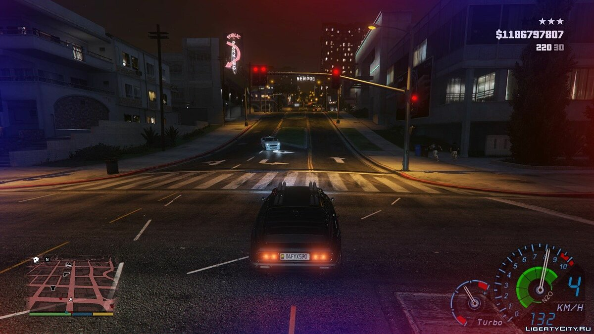 Script mod Chase Effect 1.2 for GTA 5