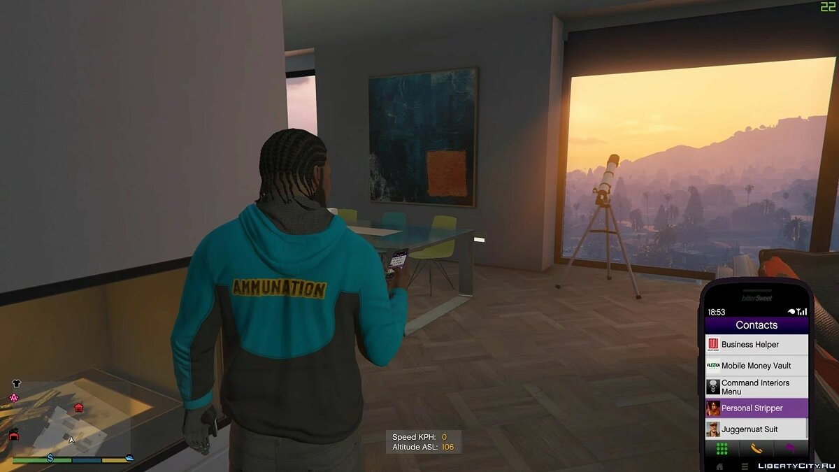Script mod Personal Stripper 2.1 (Addon Ped Support) for GTA 5
