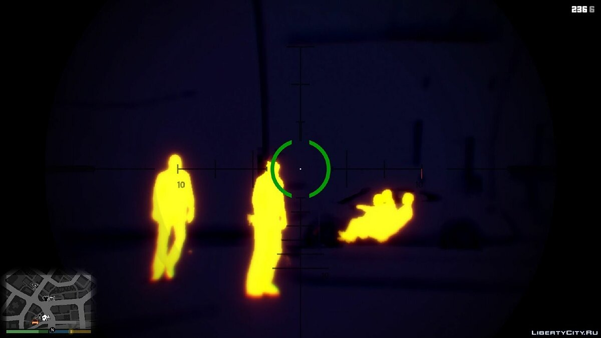 Toggle Night / Thermal Vision (+ scope-only mode) [LUA] 1.3.2 for GTA 5 - Картинка #4
