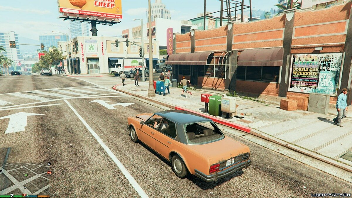 More pedestrians and traffic 1 for GTA 5