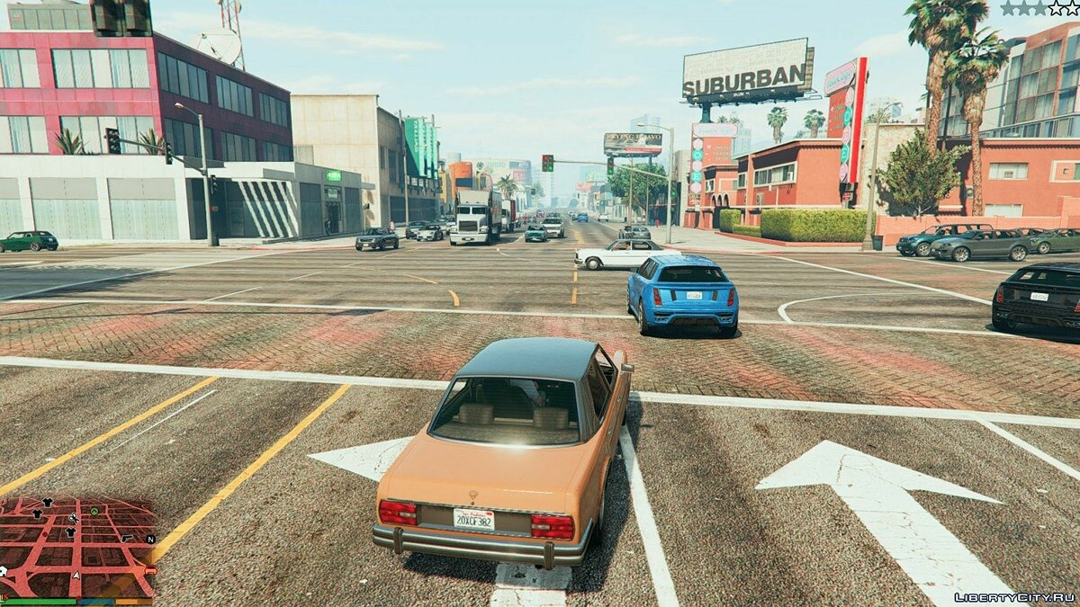 More pedestrians and traffic 1 for GTA 5 - screenshot #4