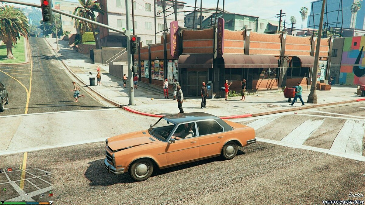 More pedestrians and traffic 1 for GTA 5 - screenshot #7