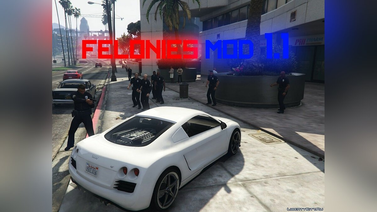 Script mod Felonies Mod [.NET] 1.1 for GTA 5