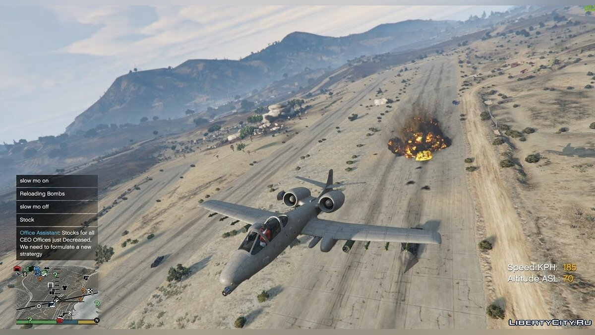 Script mod Working bomber for GTA 5