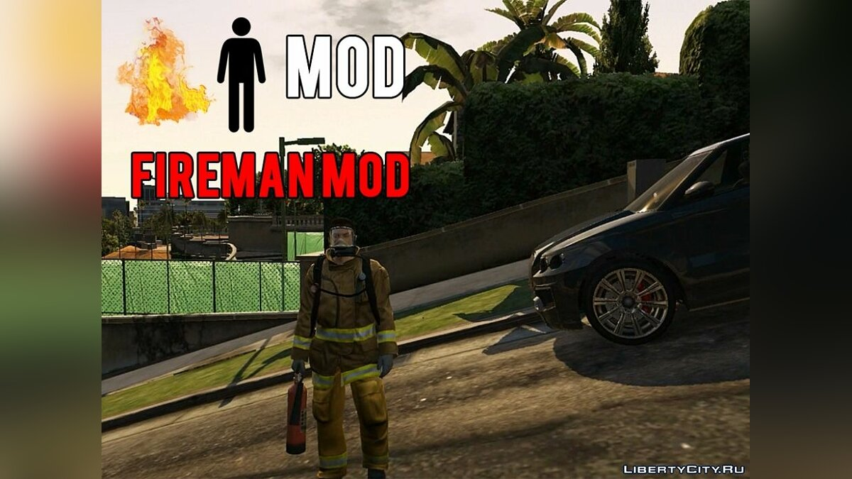 Fireman Mod 1.0 for GTA 5