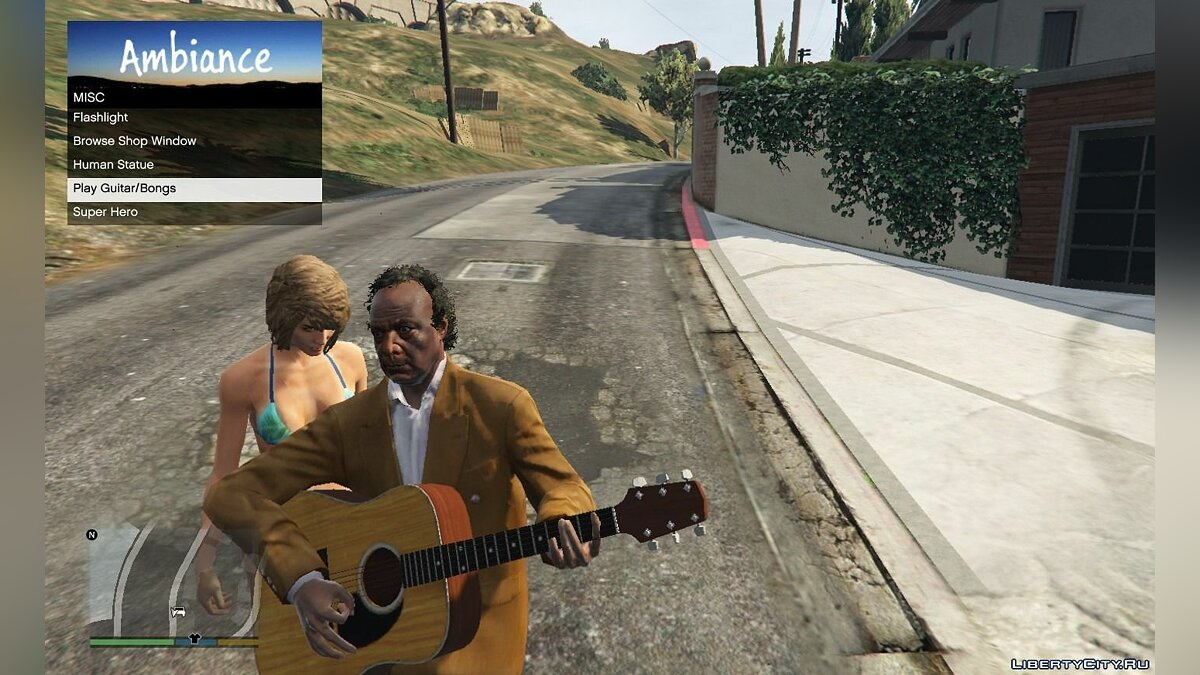 Drinking and smoking / Ambiance 1.1 for GTA 5