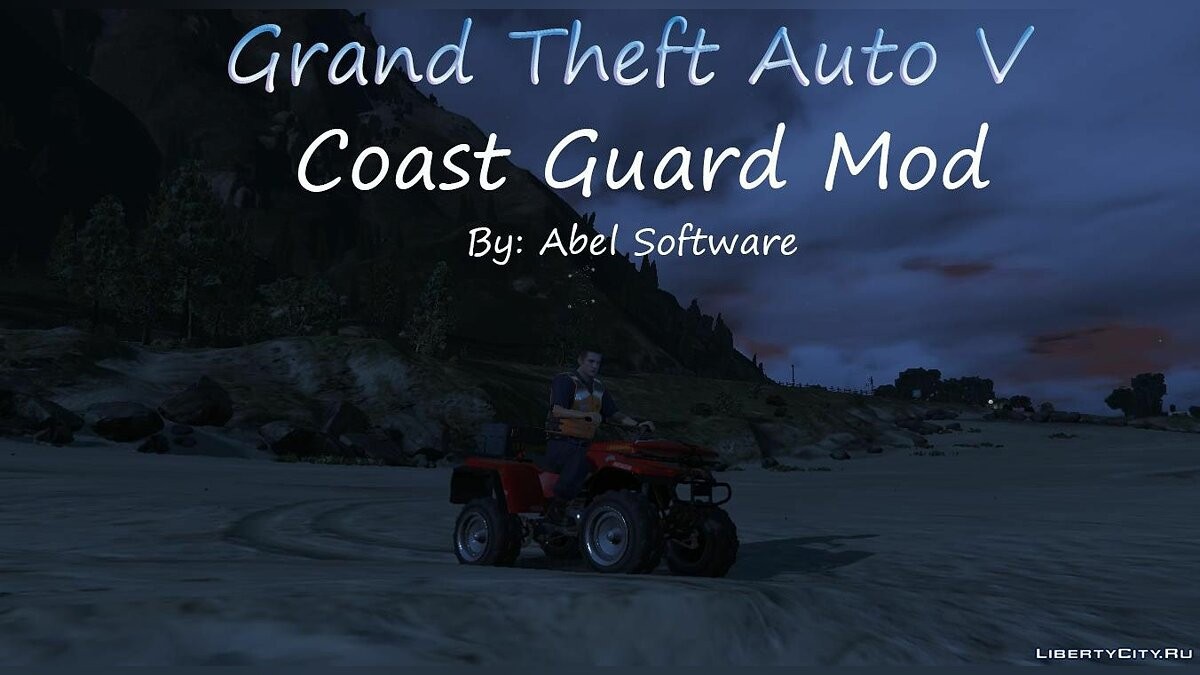 Coast Guard San Andreas for GTA 5