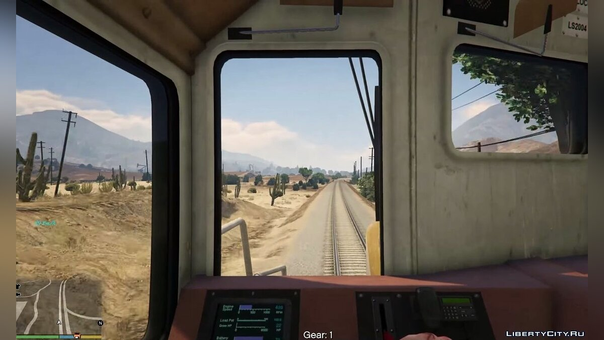 Train Driver Mod (Fix and Enhancements) for GTA 5 - screenshot #2