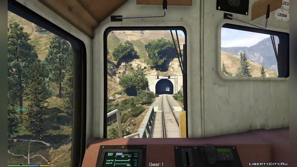 Train Driver Mod (Fix and Enhancements) for GTA 5