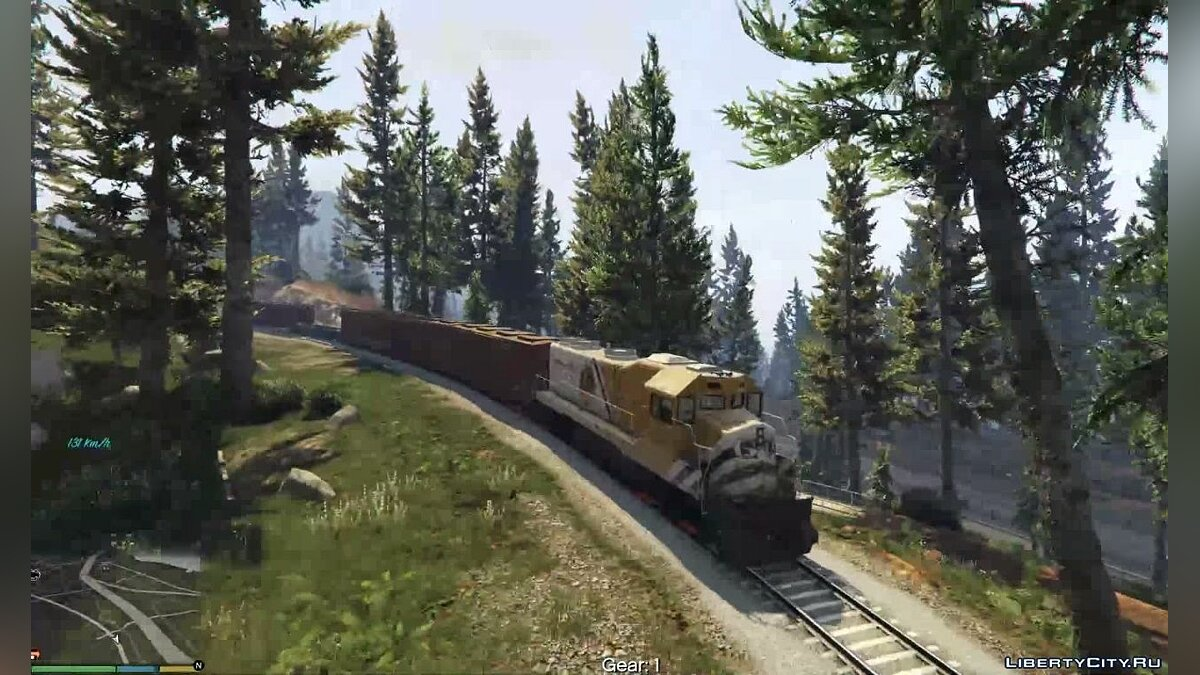 Train Driver Mod (Fix and Enhancements) for GTA 5 - screenshot #3