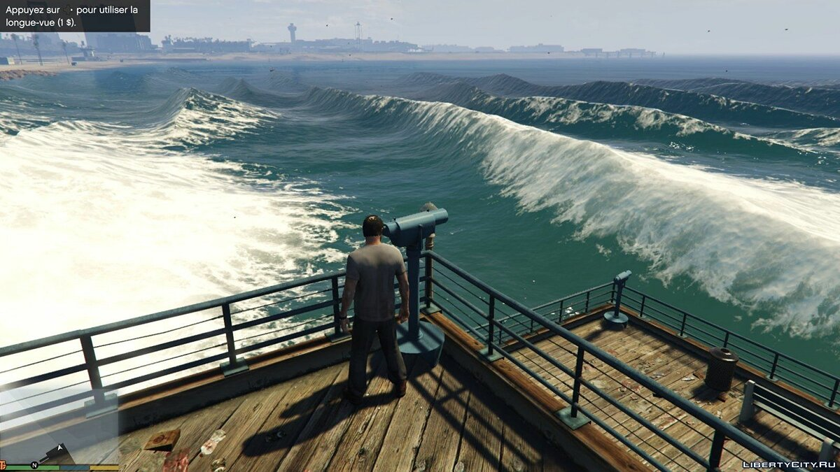 Natural big waves v1.0 for GTA 5 - Картинка #3