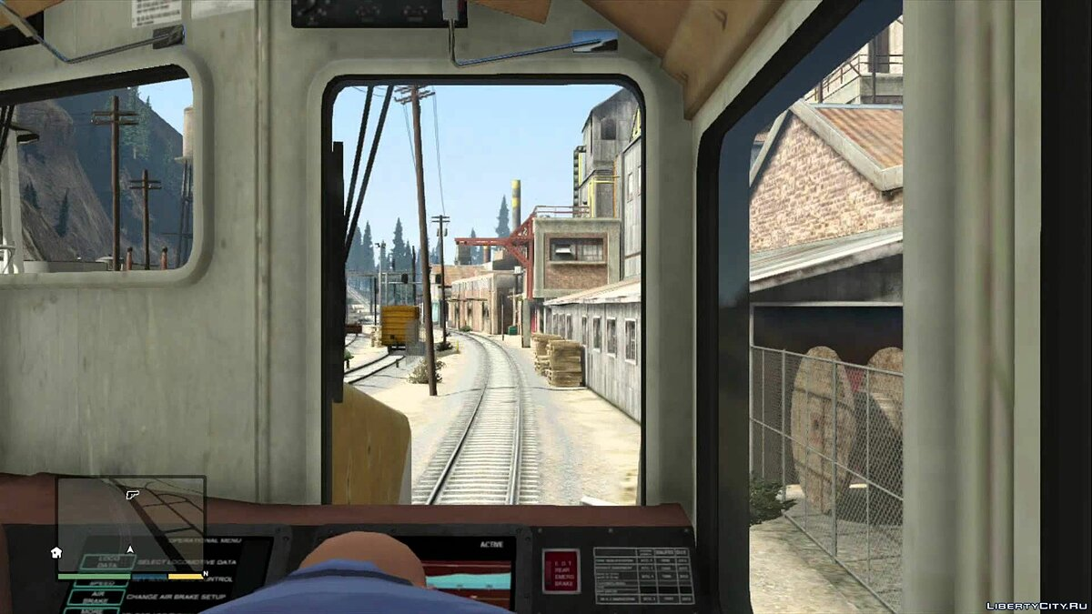 TrainDriver for GTA 5