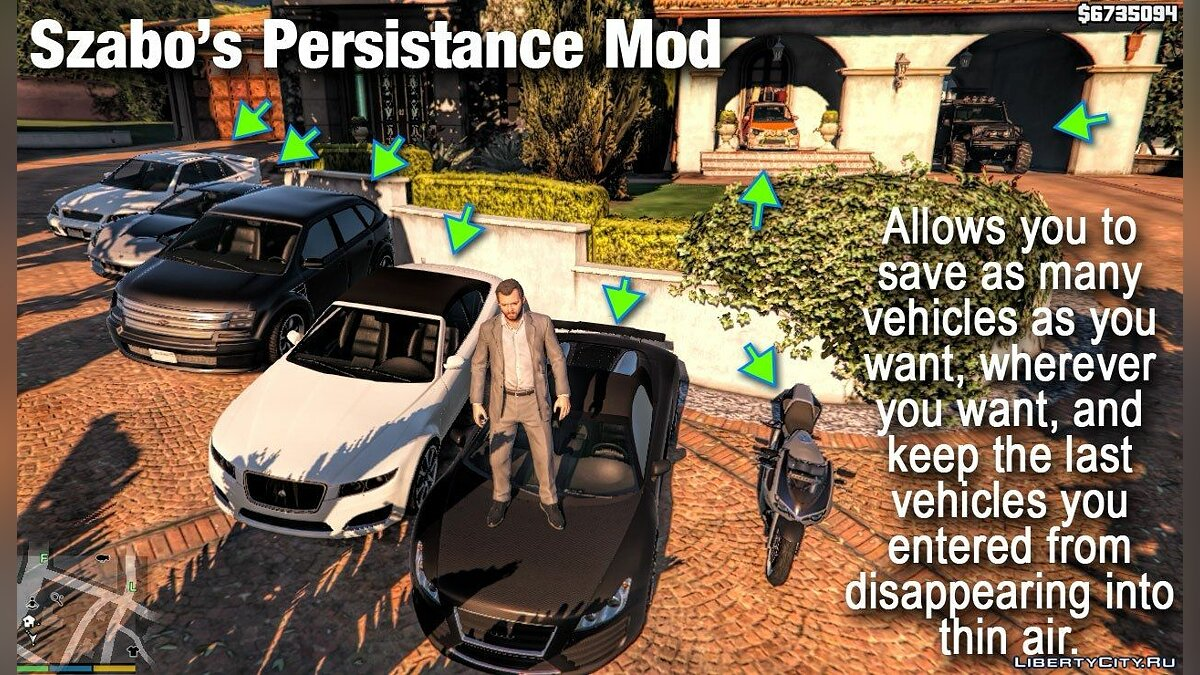 Szabo's Persistance Mod for GTA 5