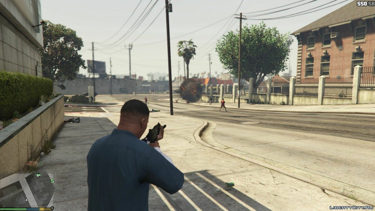 Ped Riot Mode (Mod Chaos) v0.1 for GTA 5