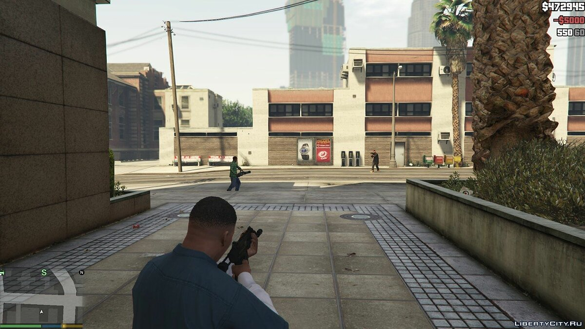 Ped Riot Mode (Mod Chaos) v0.1 for GTA 5 - screenshot #2