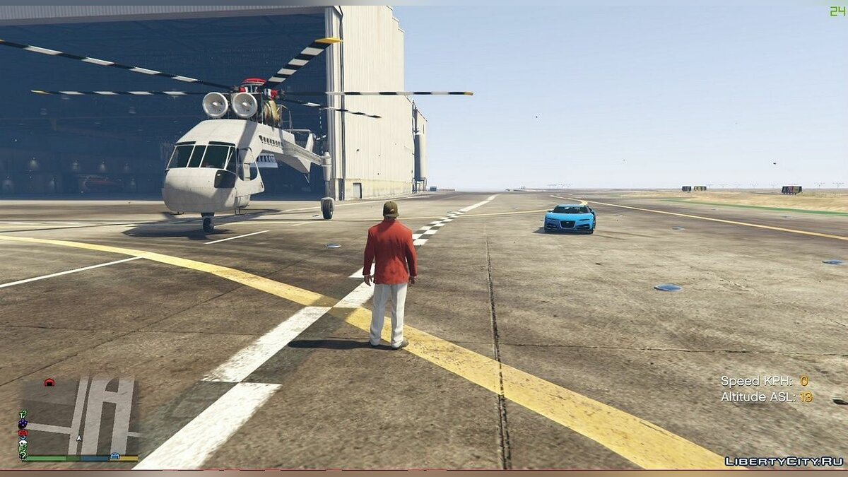 Script mod Working helicopter