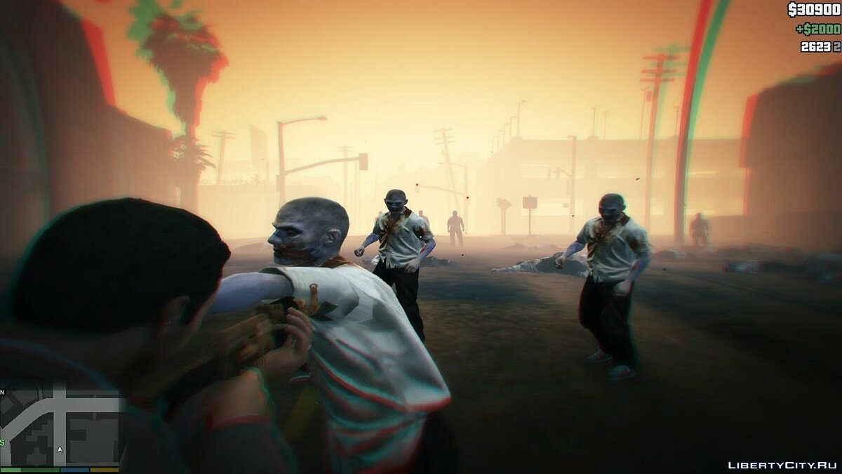 Script mod Zombies 1.0 for GTA 5
