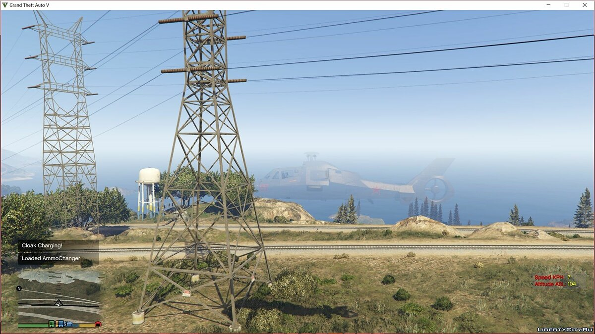 Script mod Akula Stealth Systems in SP 1.0 for GTA 5