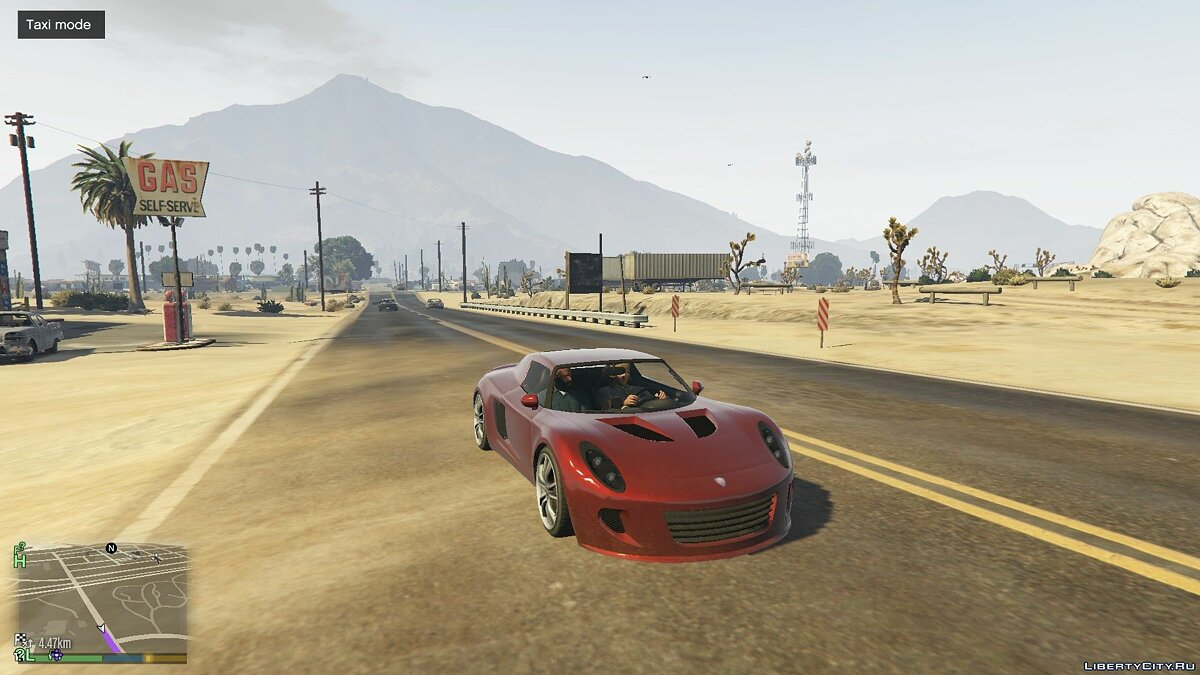 Script mod Everyone is a Taxi for GTA 5
