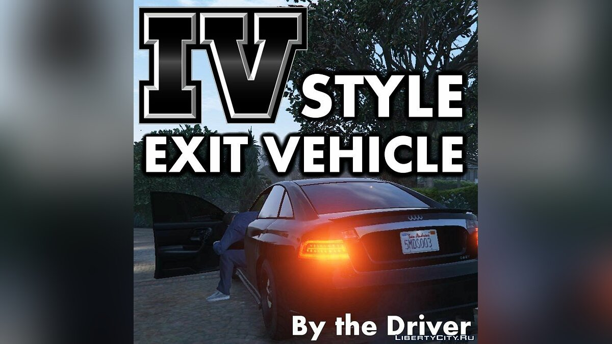 IV Style Exit Vehicle (Engine on / off) 2.0 for GTA 5