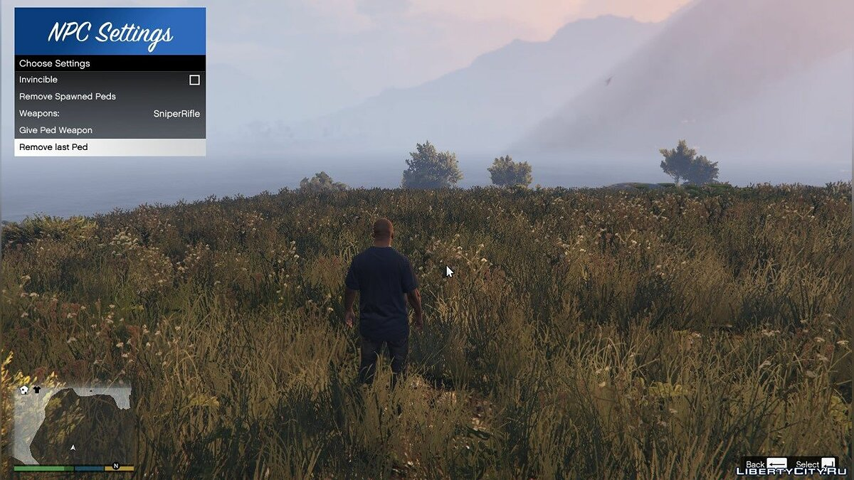 Script mod Spawn game characters for GTA 5