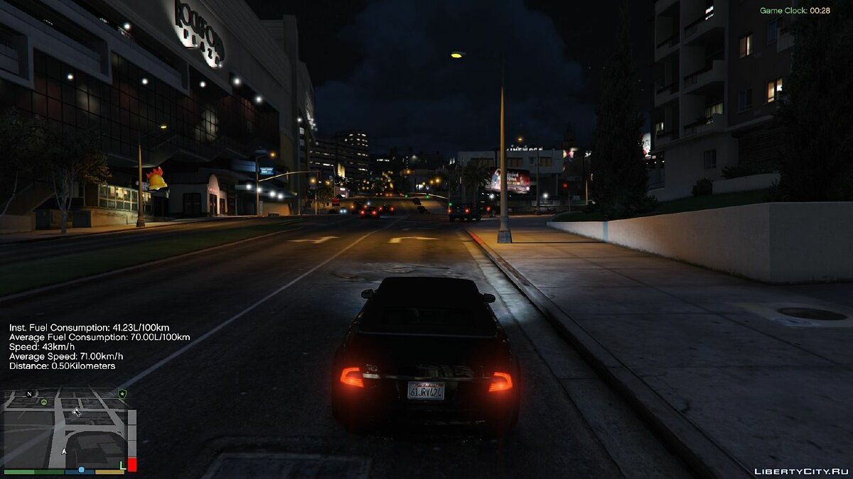 Script mod Advanced Fuel Mod 1.3.3 for GTA 5