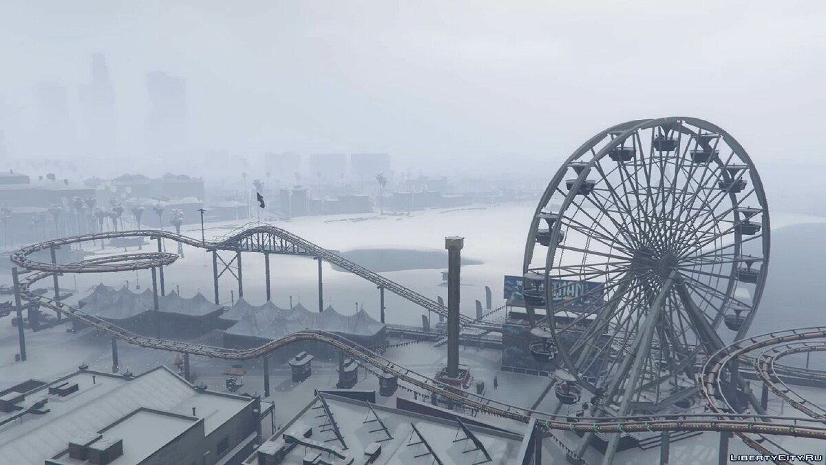 Singleplayer Snow 2.2 for GTA 5
