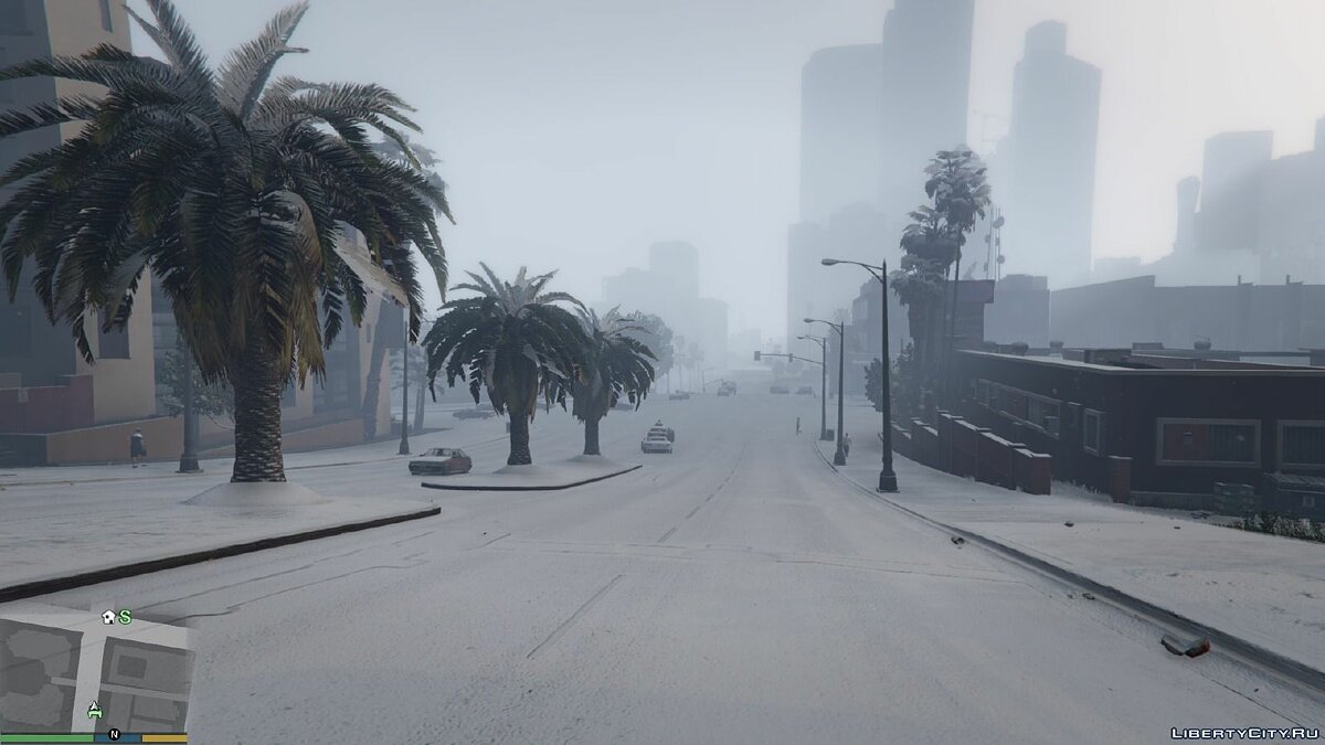 Singleplayer Snow 2.2 for GTA 5 - screenshot #4