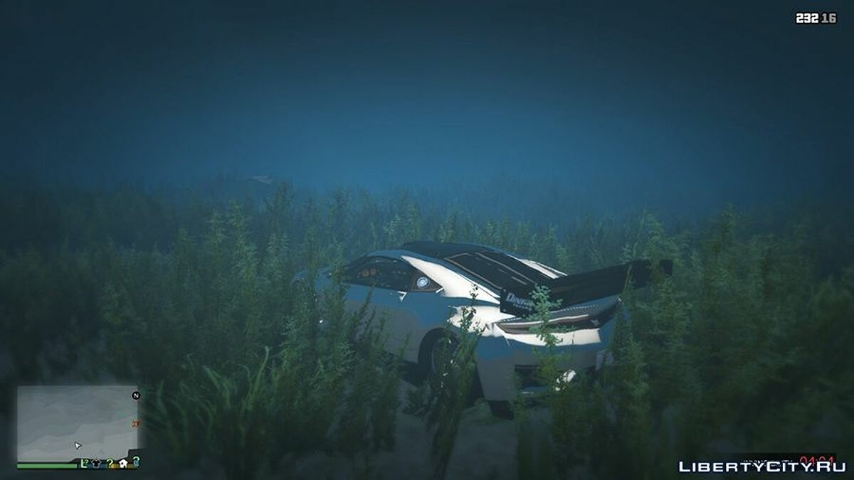 Sticky / Underwater Cars for GTA 5