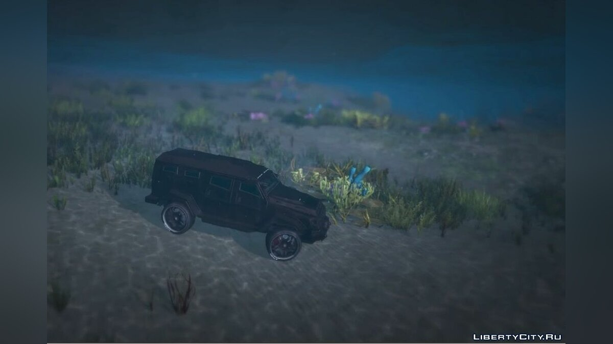 Sticky / Underwater Cars for GTA 5 - screenshot #2