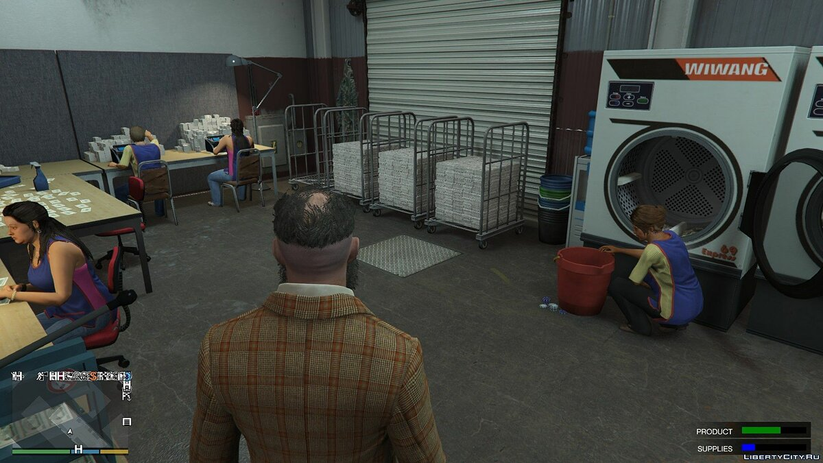 Script mod Counterfeit money 0.6 for GTA 5