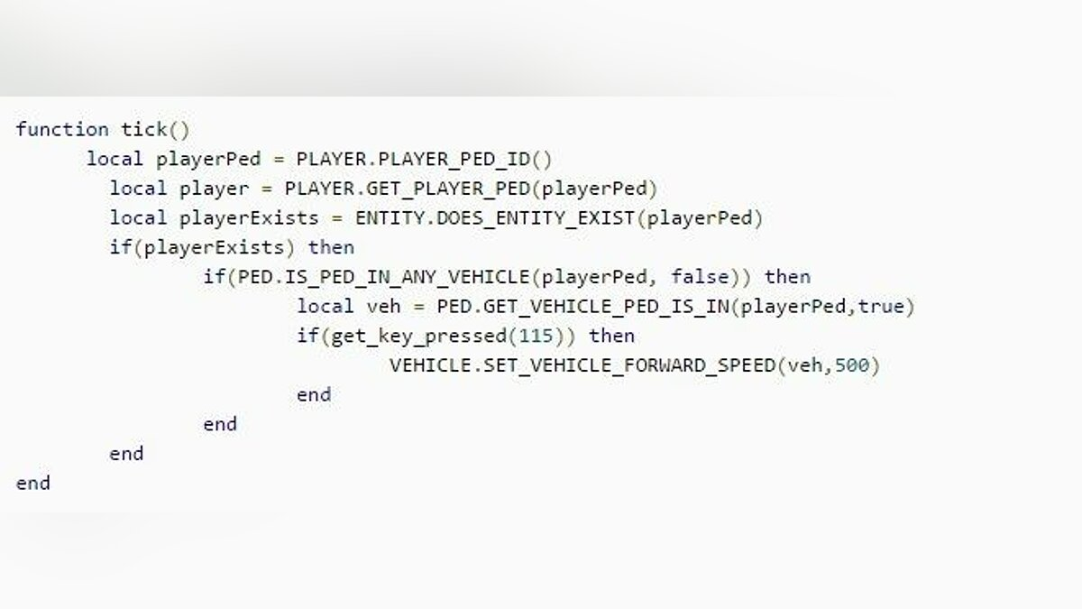 Script editor LUA Plugin for Script Hook V 8.0 for GTA 5