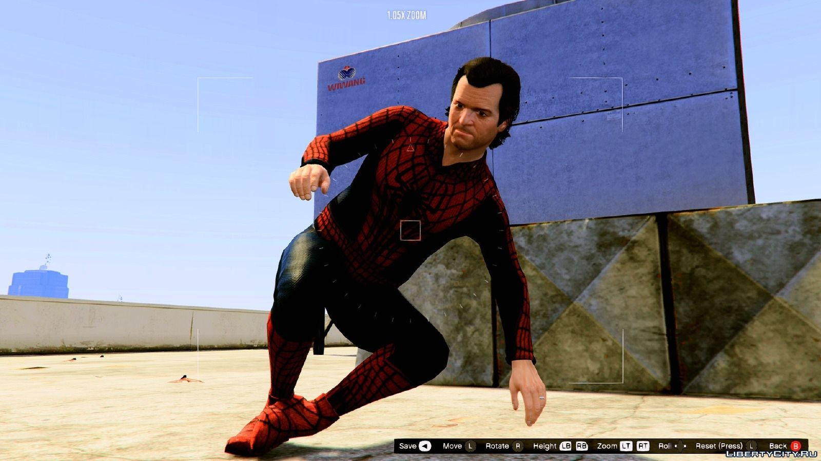 HQ Spider-Man - Costume Replica Pack 1 1 for GTA 5