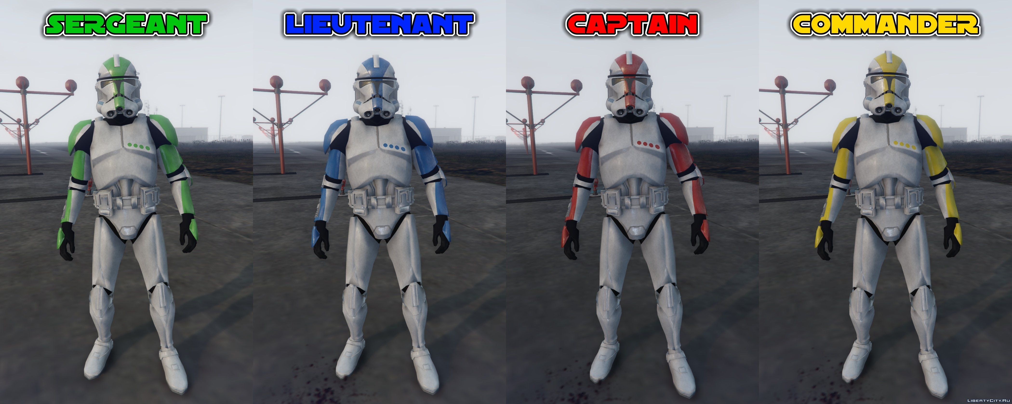 Rezzed Clone Troopers Pack [Add-On] 4.0 for GTA 5