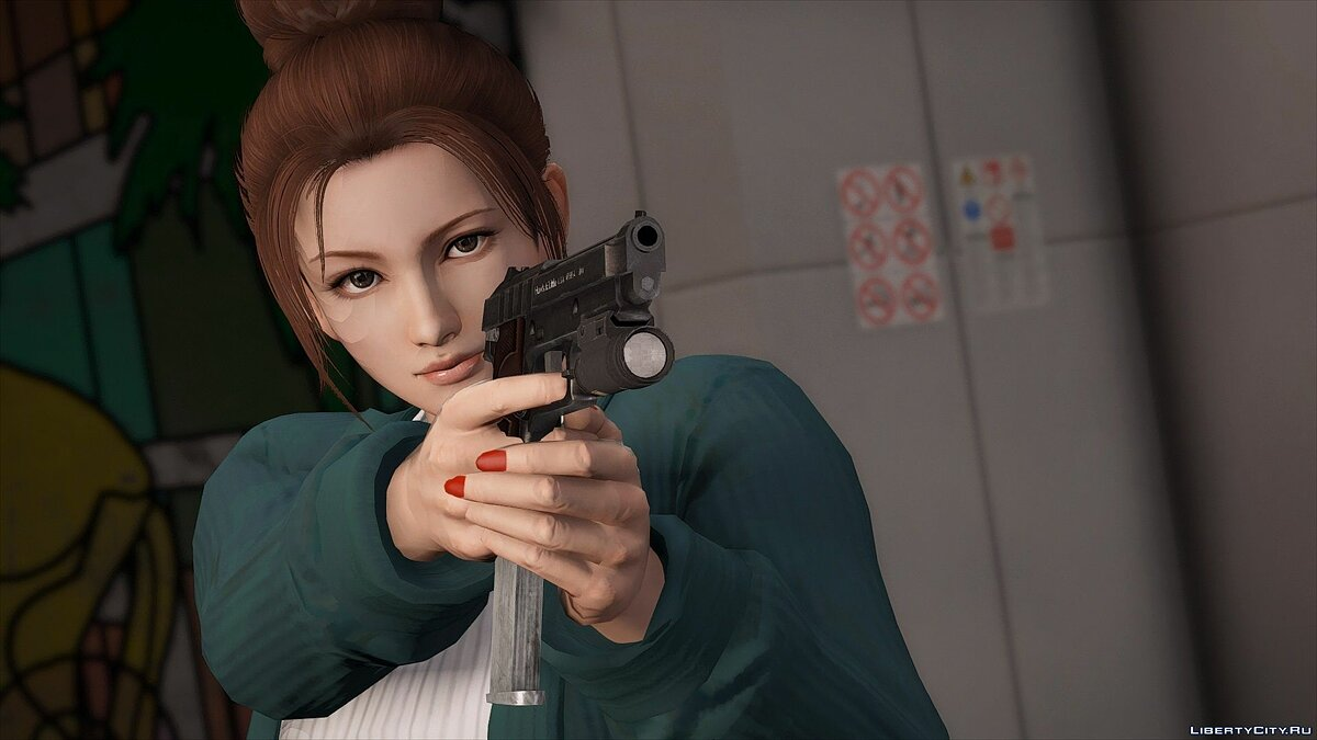 Skin packs Mai Shiranui Dead Or Alive 5 [Add-On Ped   Replace] v1.5 for GTA 5