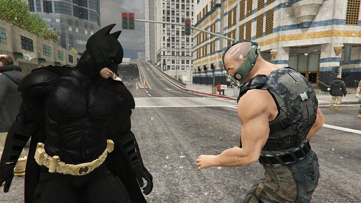 Skin packs Characters from The Dark Knight for GTA 5