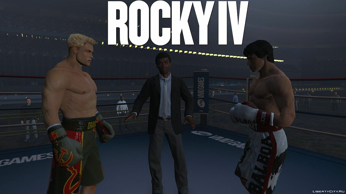 Skin packs Rocky Collection for GTA 5