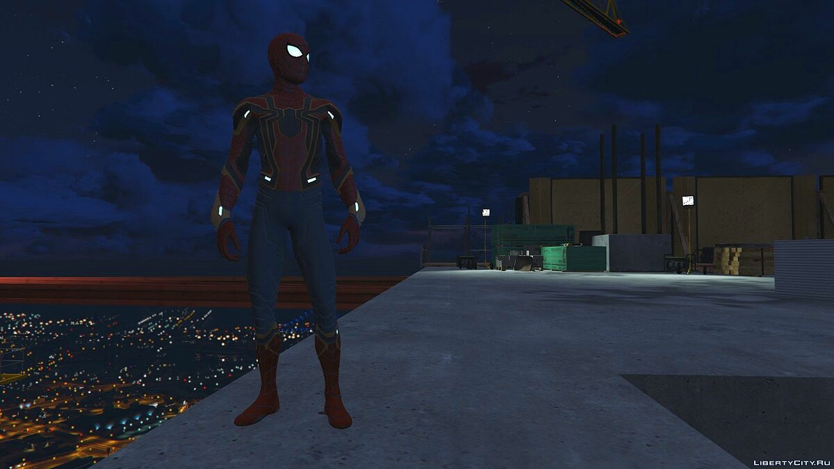 Collection of Spider-Man skins from the game on the PS4 (Metal update) for GTA 5 - screenshot #4