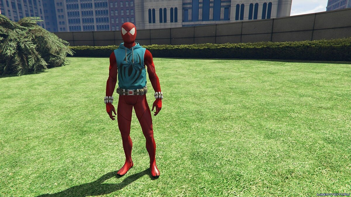 Collection of Spider-Man skins from the game on the PS4 (Metal update) for GTA 5 - screenshot #5