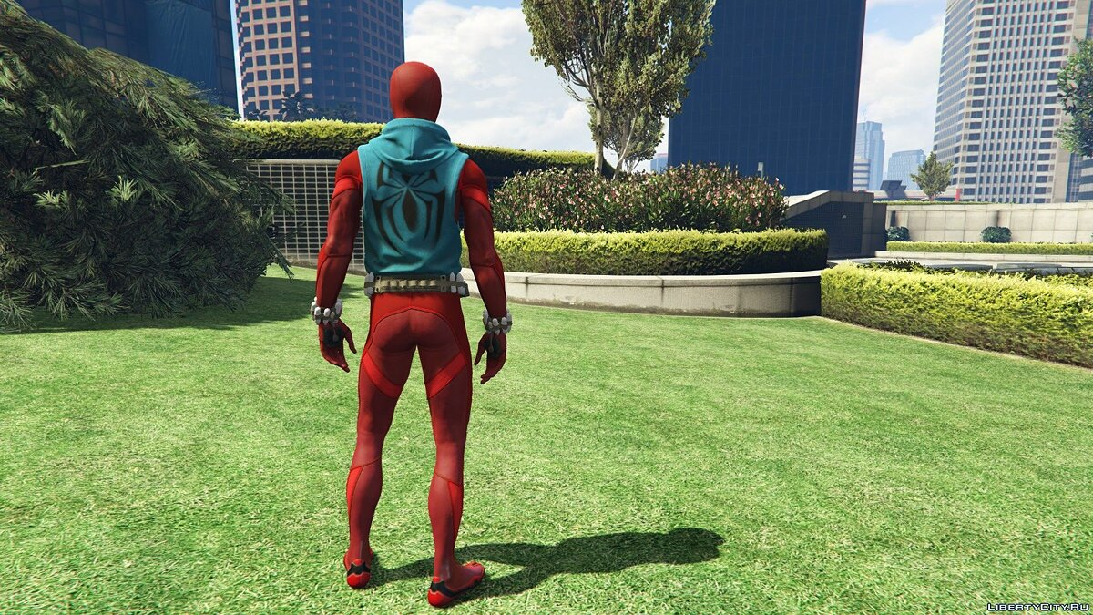 Collection of Spider-Man skins from the game on the PS4 (Metal update) for GTA 5 - screenshot #6