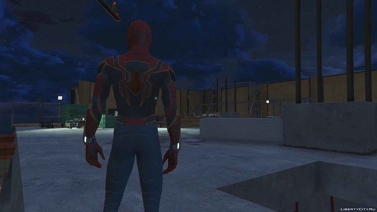 Collection of Spider-Man skins from the game on the PS4 (Metal update) for GTA 5 - screenshot #7