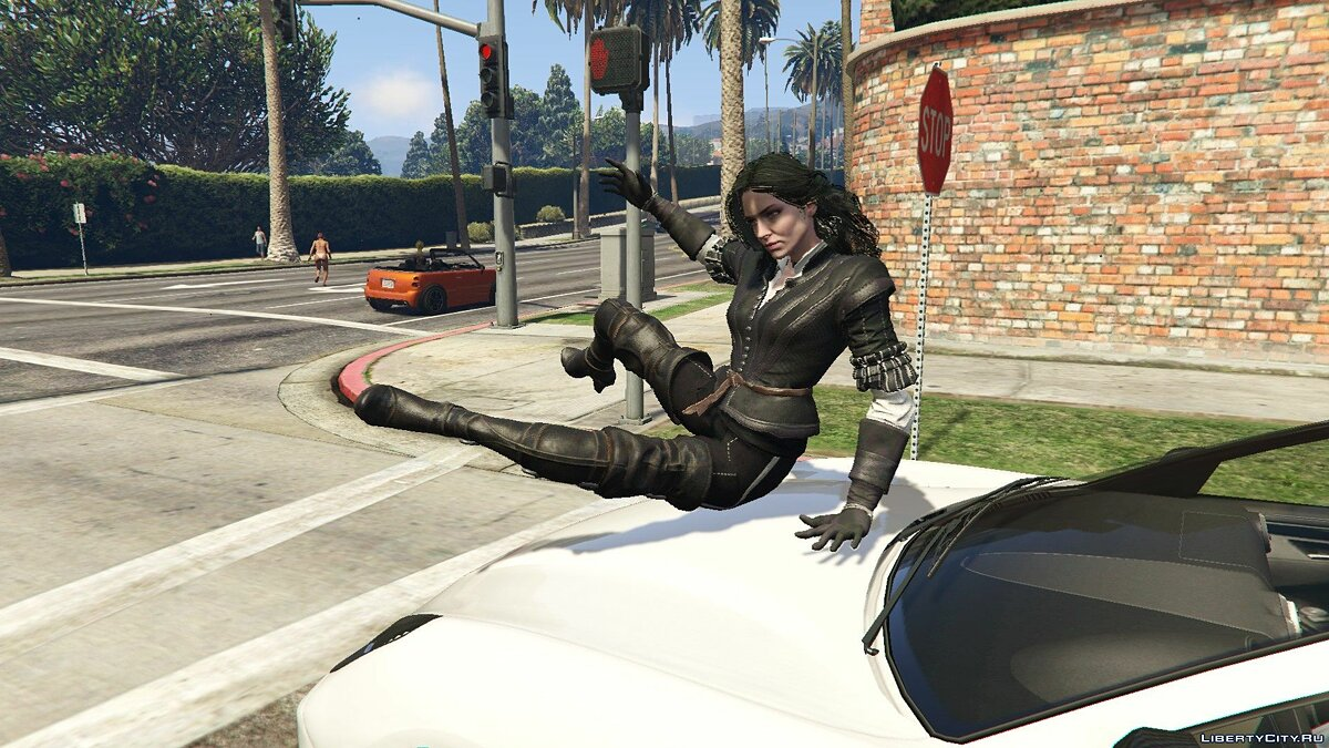 Skin packs Jennifer Pack [Add-On Ped] 1.0 - The Witcher for GTA 5